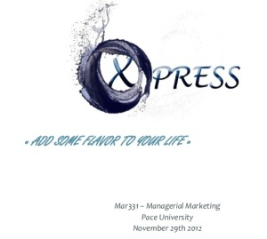 Xpress Water Marketing Plan