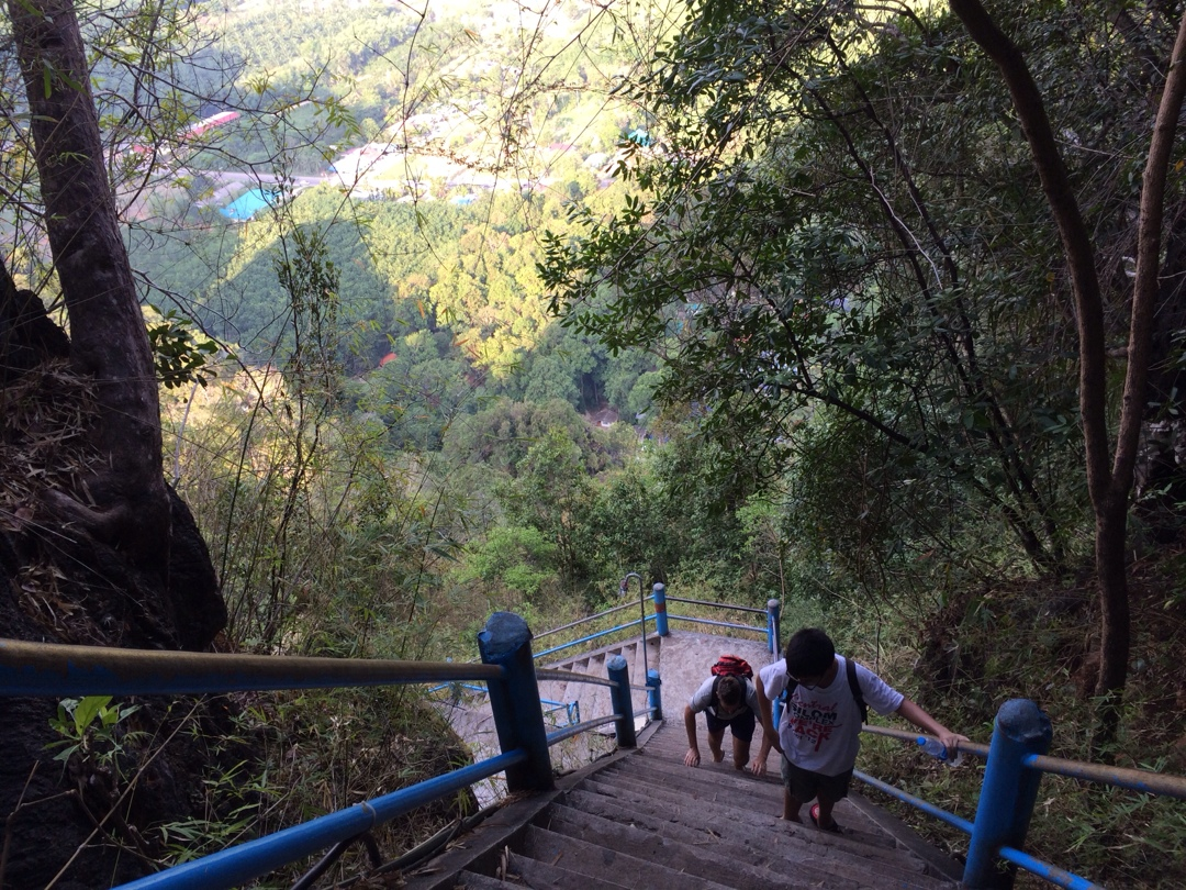 on the way to the top in krabi