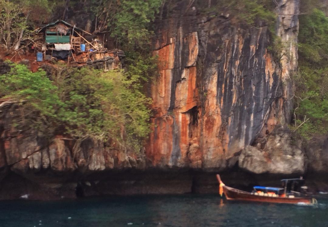 house on cliffs ko phi phi