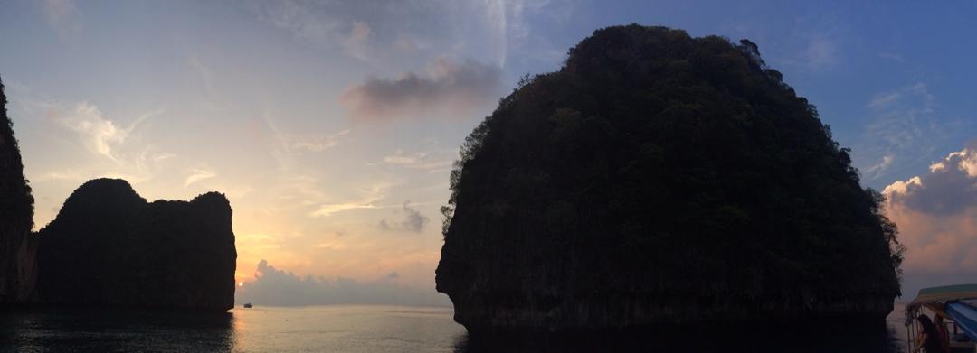 maya bay sunrise