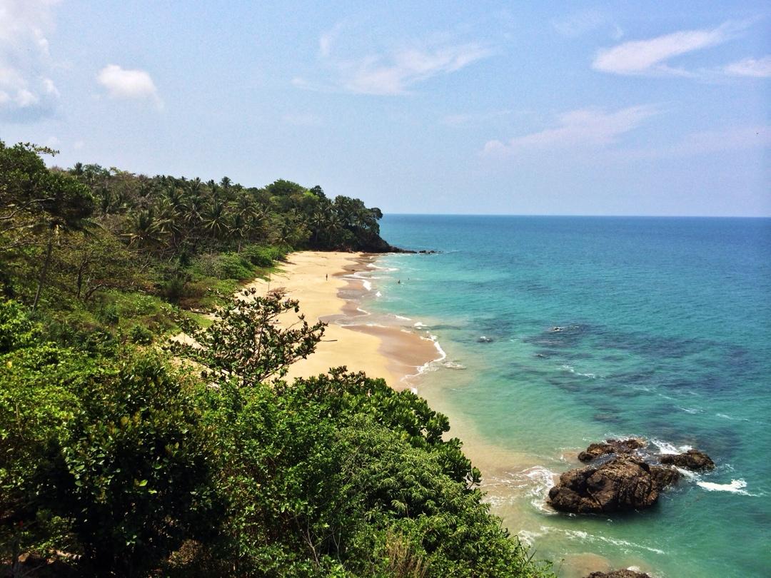 Beautiful lo ely beach on ko Lanta