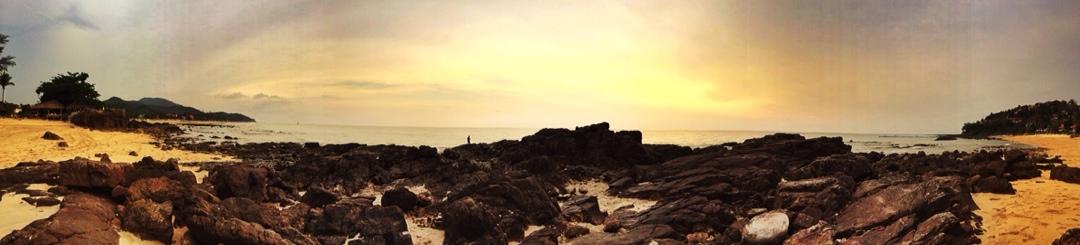 Ko lanta beach sunset