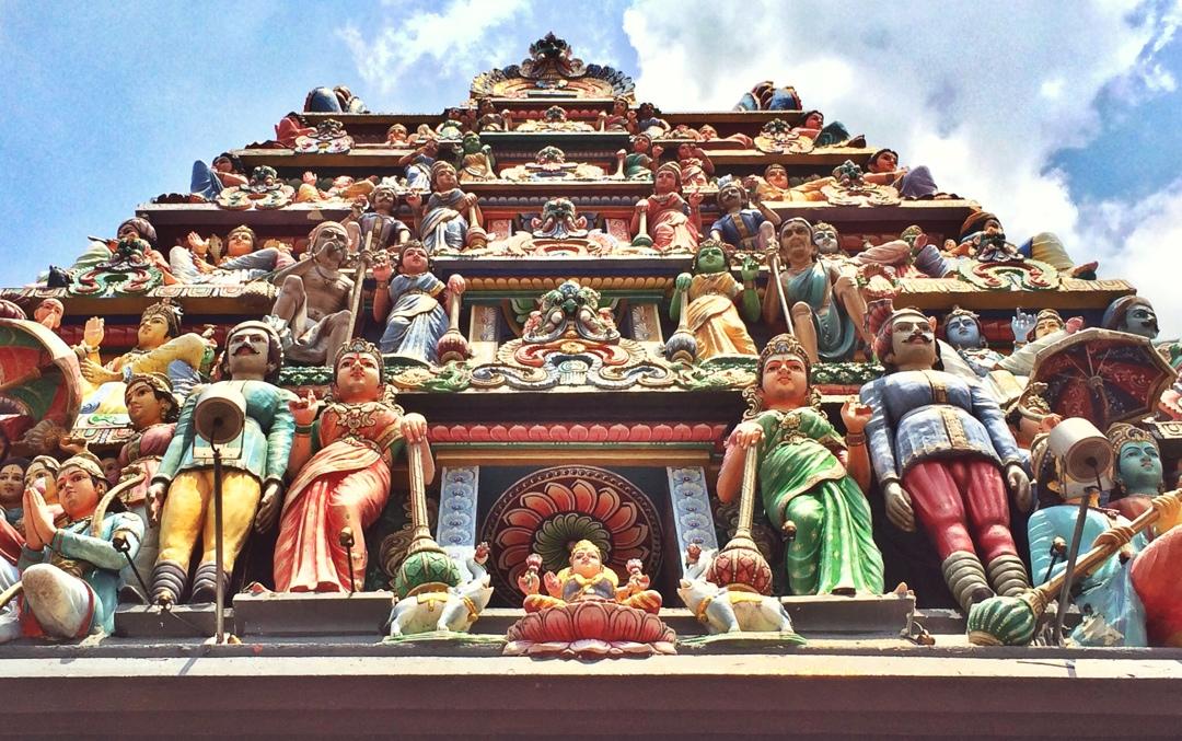 Singapore hindi temple