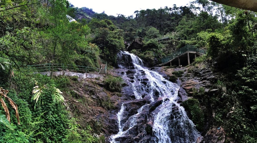 silver falls in sapa