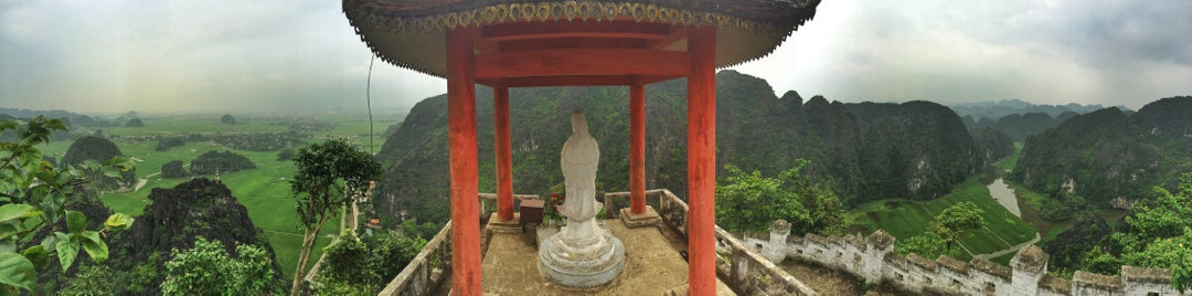 Best viewpoint in vietnam at tam coc