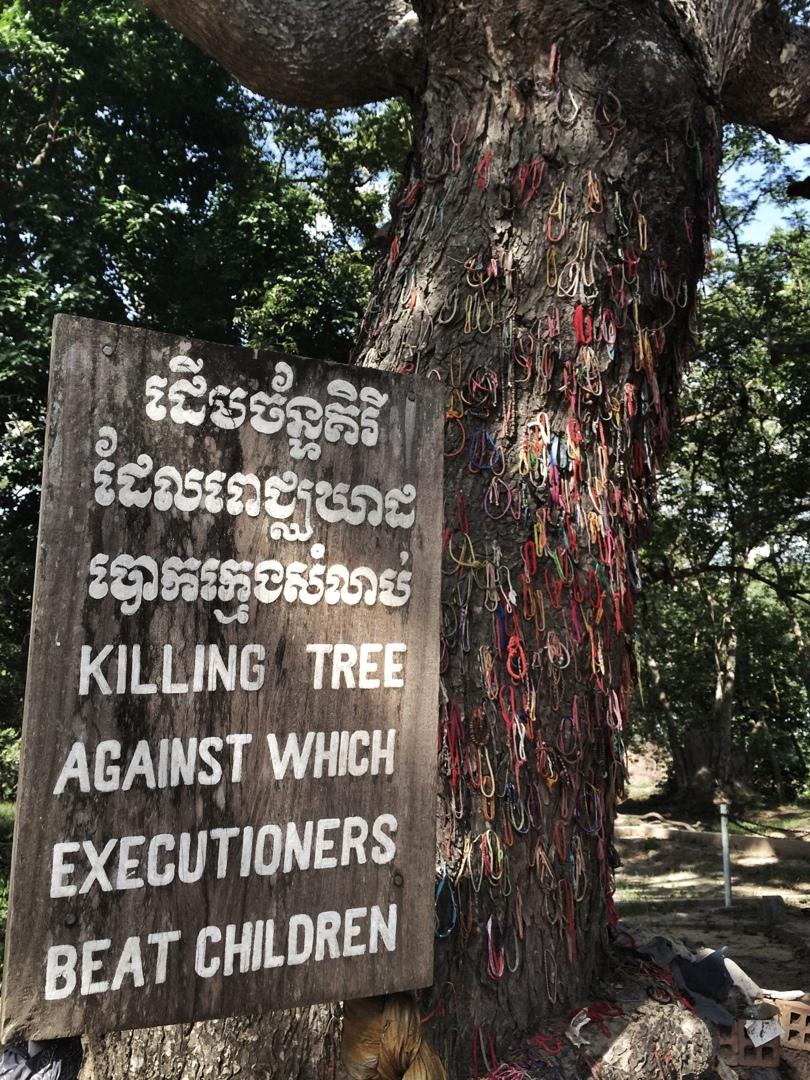 Killing tree khmer rouge