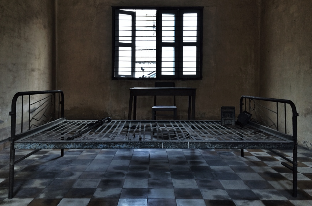 Torture chamber at cambodian prison