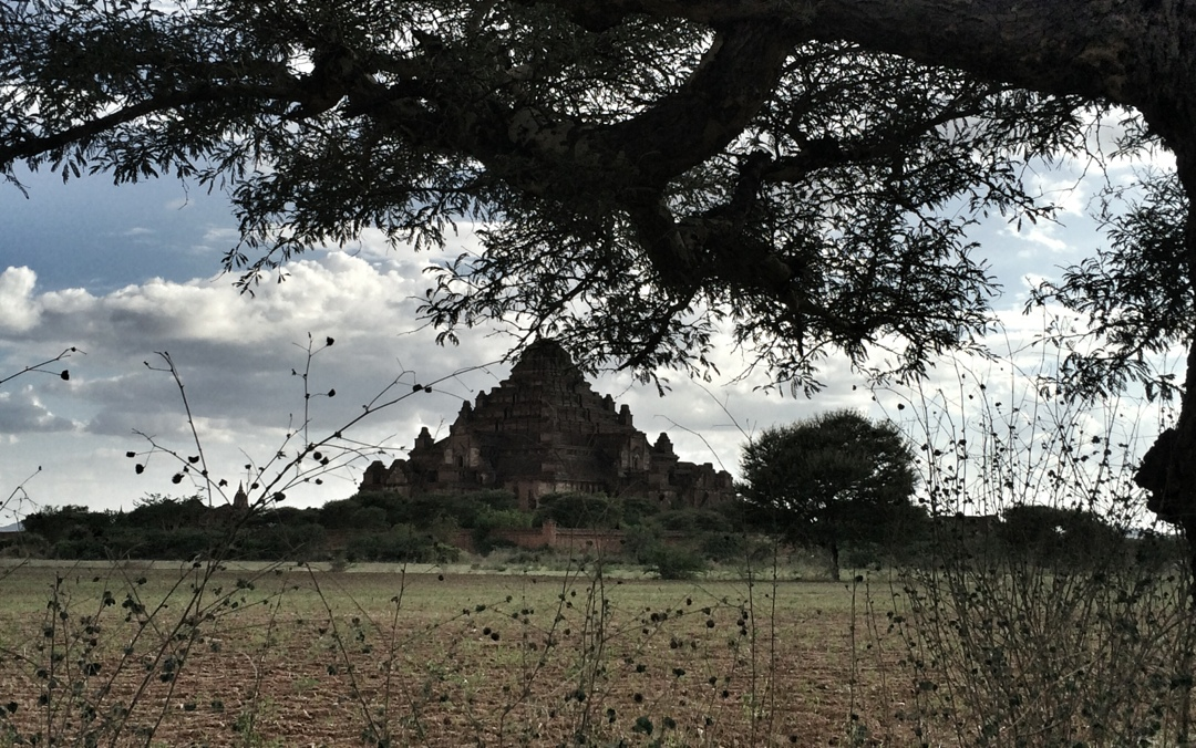 Bagan temple from far
