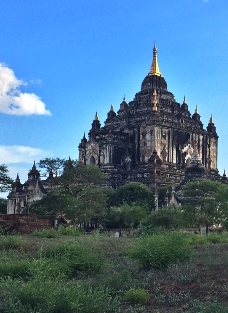 Mysterious temple in bagan