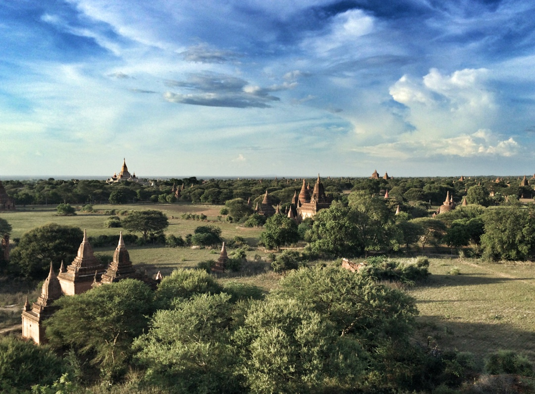 Bagan by daylight