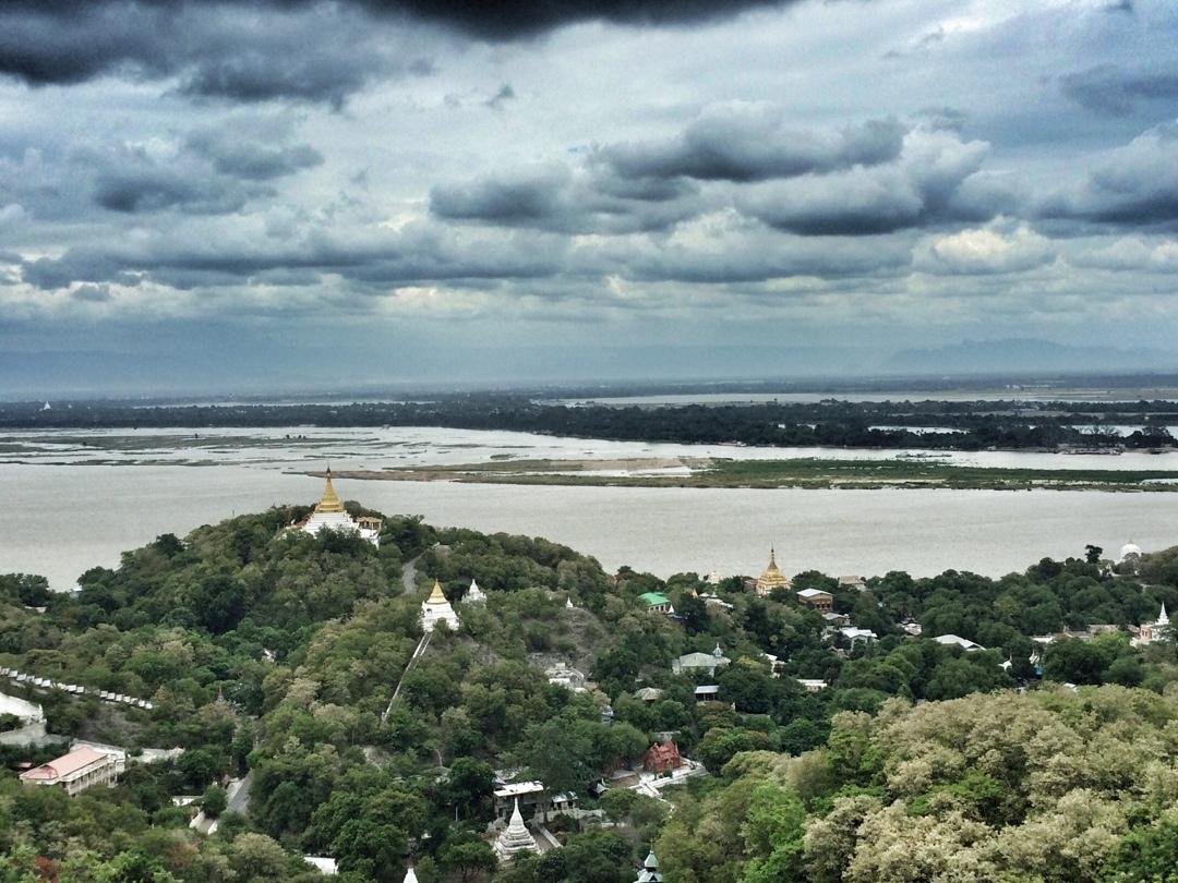 Sagaing hill view