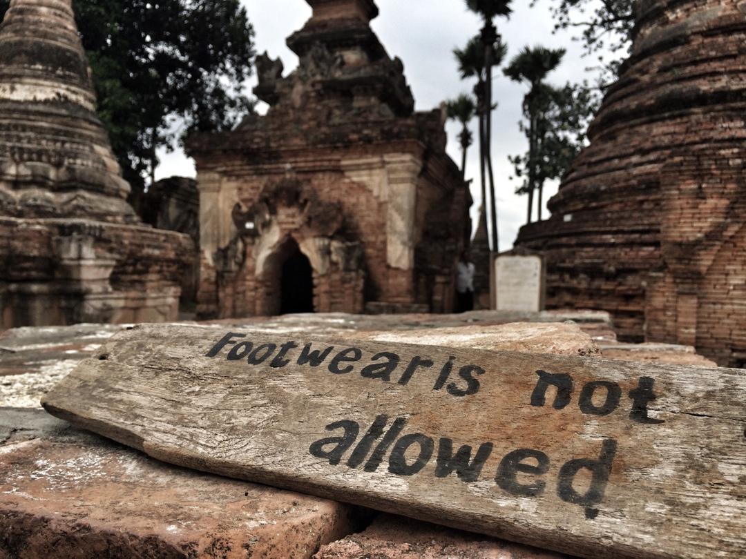 Inwa ancient pagoda