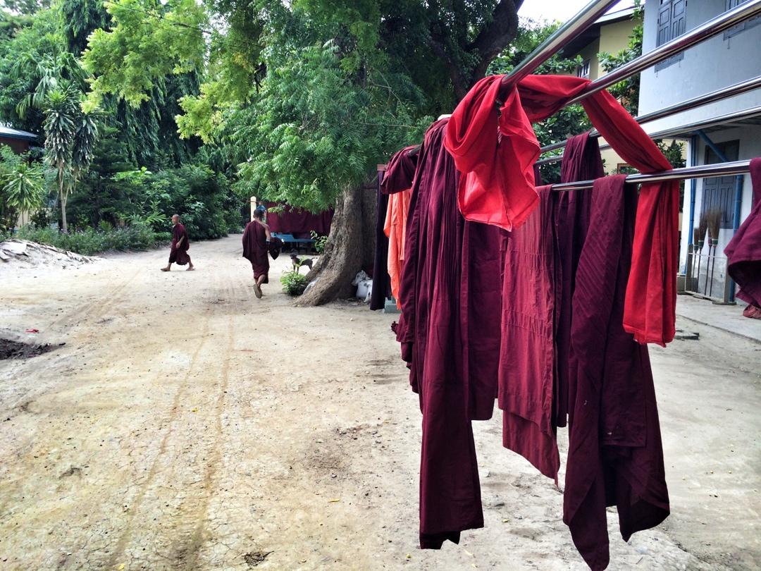 Monastery laundry day