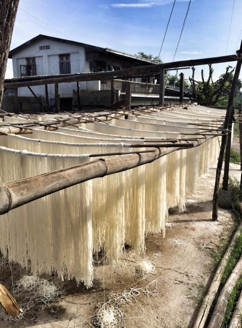 noodle factory in Myanmar