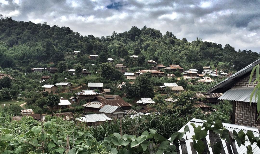 Palaung village near Hsipaw
