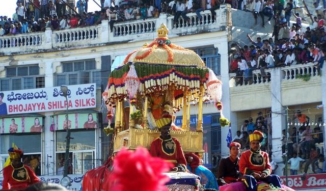 Mysore Dasara festival of elephants