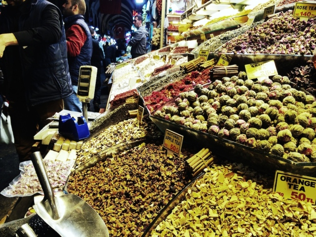 You can buy thousands of spices and herbs at Grand Bazaar market